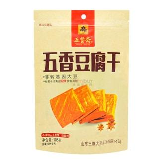 五贤斋 五香豆腐干 108g