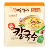 韩国SAMYANG三养 刀削面汤面 5包入 500g
