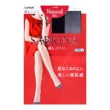日本GUNZE SABRINA NATURAL FIT 自然裸感丝袜 #026黑色 M-L 单件入