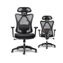 【美仓发货 5-7日达】网易严选  多功能人体工学椅 办公椅 黑色 高性价比