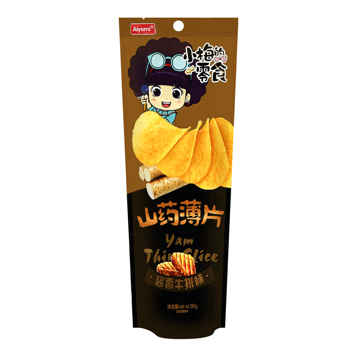 Yamibuy.com:Customer reviews:Aiyomi Yum Chips Alrtifical Miso Steak Flavor  90g