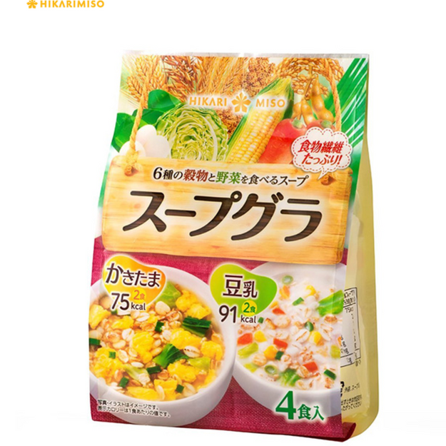 Product Detail - HIKARIMISO Egg Soup / Soymilk Soup 4 packs - image 0