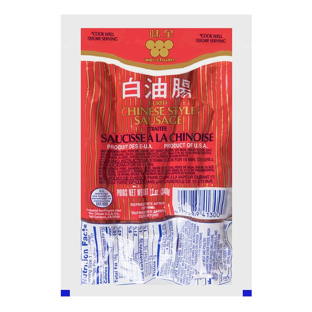 Product Detail - WEI CHUAN Sausage 340g - image 0