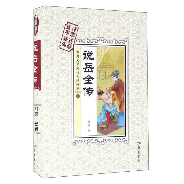 商品详情 - 说岳全传(解字 导读 释词 注音) - image  0