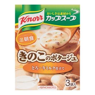 日本AJINOMOTO 菌菇蔬菜浓汤汤料 3袋入 42.9g