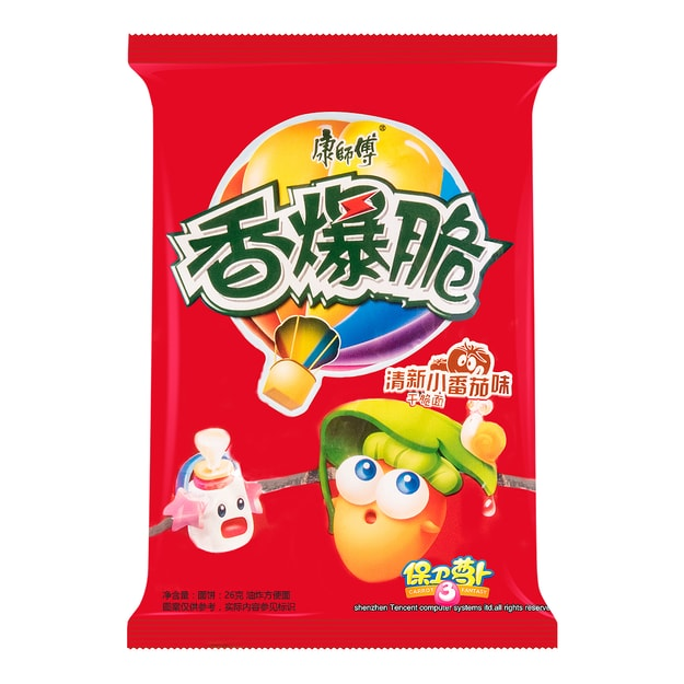 Product Detail - MASTER KONG Noodle Snack Tomato Flavor 26g - image 0