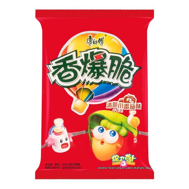 商品详情 - 康师傅 香爆脆 干脆面 清新小番茄味 26g  - image  0