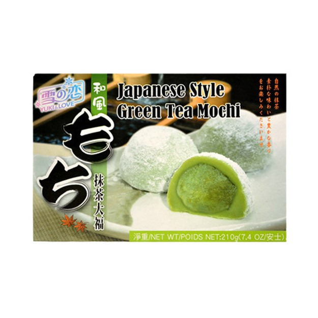 Product Detail - YUKI/LOVE Japan Mochi Green Tea 210g - image 0