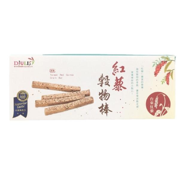 商品详情 - [台湾直邮] 德朱利斯 红藜谷物棒 168g - image  0