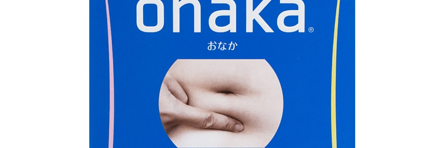 PILLBOX ONAKA Reduces Belly Fat Dietary Nutrients 60Tablets