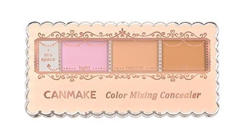 CANMAKE Color Mixing Concealer #C11 Pink & Highlight beige