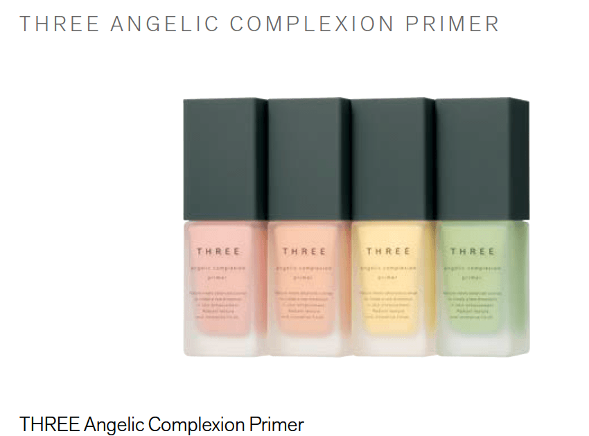 THREE Angelic Complexion Primer #04Minty Froth 30g