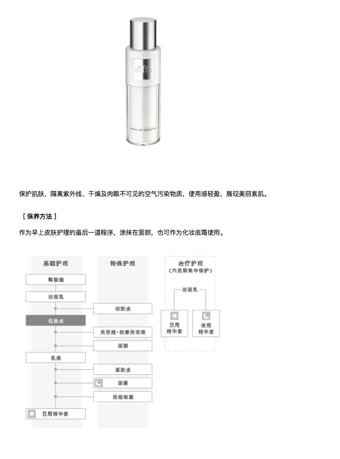 日本THE GINZA日用防晒精华隔离霜 SPF30 PA+++ 30g