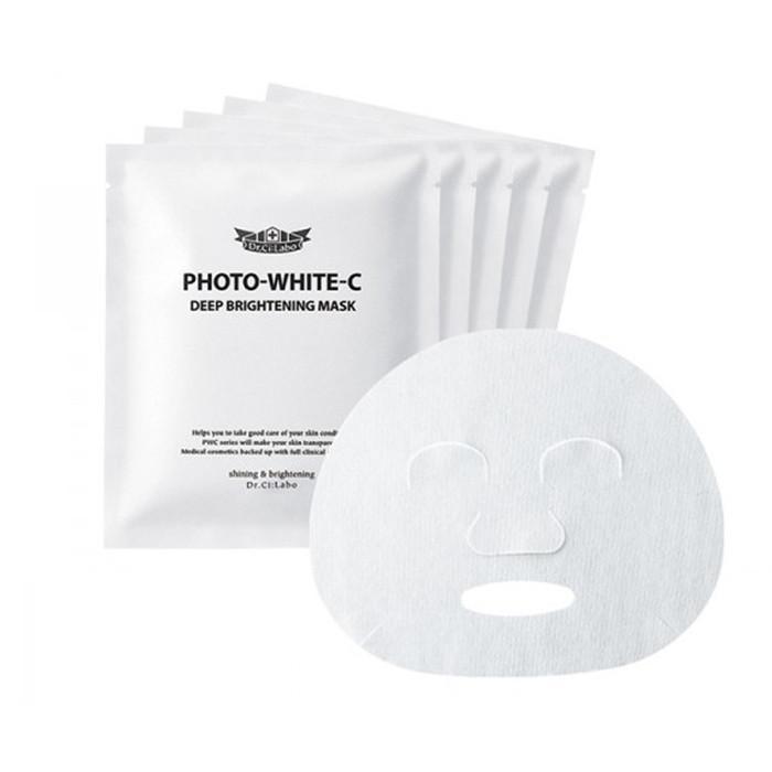 DR. CI:LABO Photo-White-C Whitening Mask 5pcs