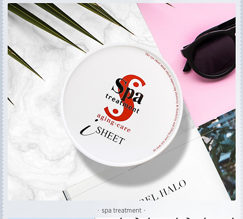 SPA TREATMENT HAS Eye Sheet Mask Red 60sheets