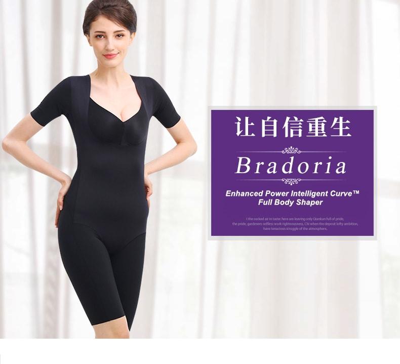 727092065d485 BRADORIA Shapewear Enhanced Power Intelligent Curve™ Full Body Shaper Black  XXXXL  21031 ...