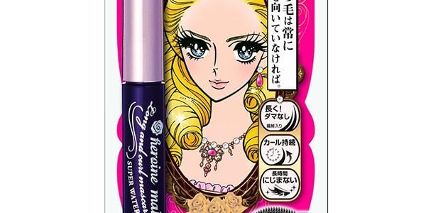 KISS ME HEROINE MAKE Long Curl Mascara Pure Black 1pc