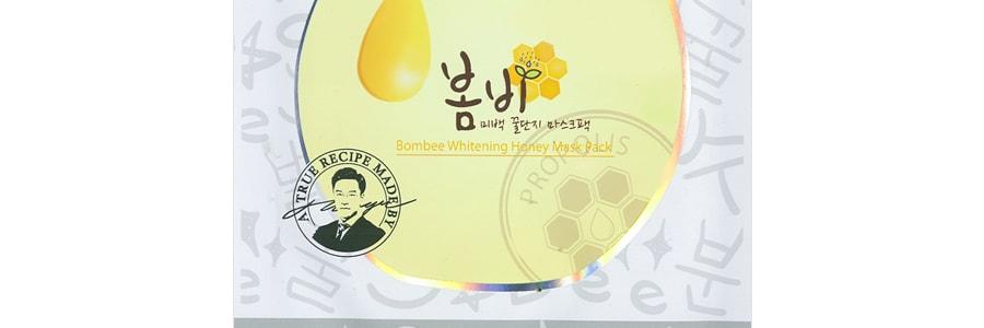 PAPA RECIPE Bombee Whitening Honey Mask 1sheet