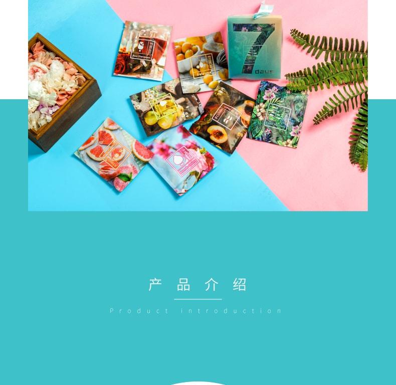 【中国直邮】UMTEA 好好学习 上班 三角包茶 7包装
