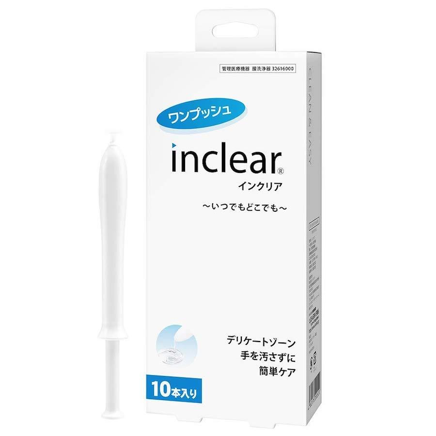 INCLEAR Feminine Cleansing Gel 1.7g x 10pcs