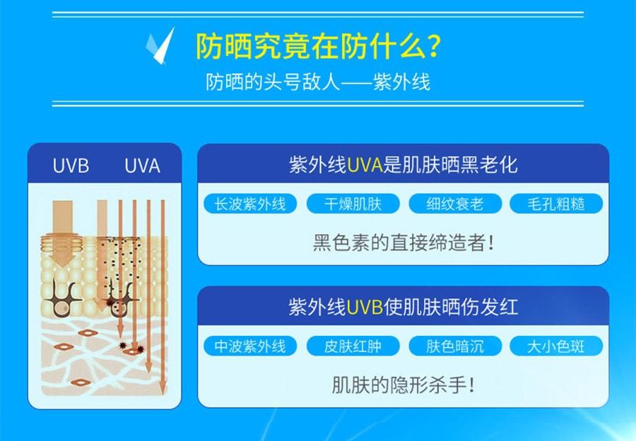 【日本直邮】KAO花王 BIORE碧柔 水精华清爽保湿防晒乳 SPF50+PA++++ 50g