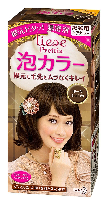 Kao Liese Prettia Bubble Hair Dye Dark Chocolate 1set Yamibuy