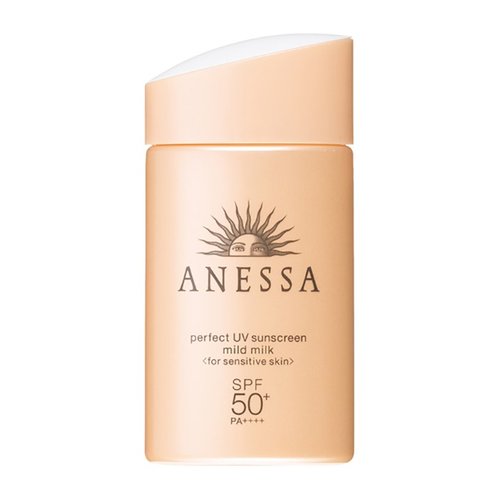 SHISEIDO ANESSA Perfect UV Mild Milk Sensitive Skin SPF50+/PA++++ 2018 New 60ml