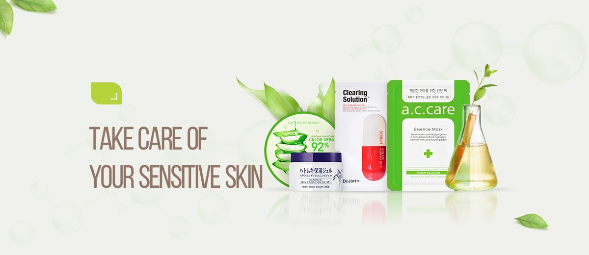 Take Care of Your Sensitive Skin