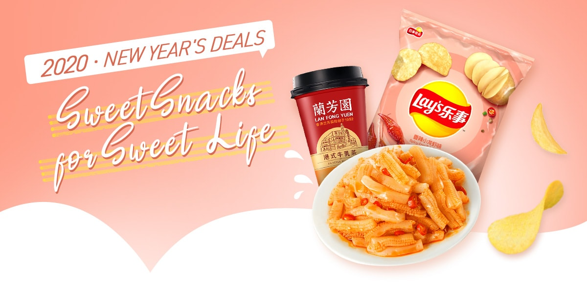 2020 New Year's Deals Sweet Snacks
