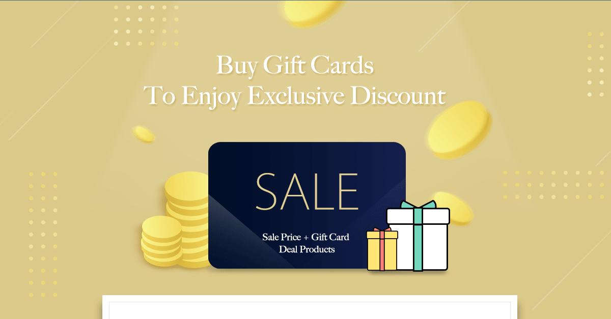 Yamibuy Giftcard - July