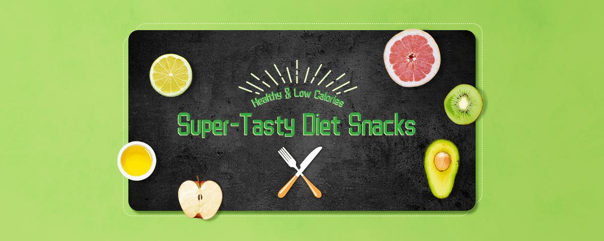 Healthy & Low Calories Super-Tasty Diet Snacks