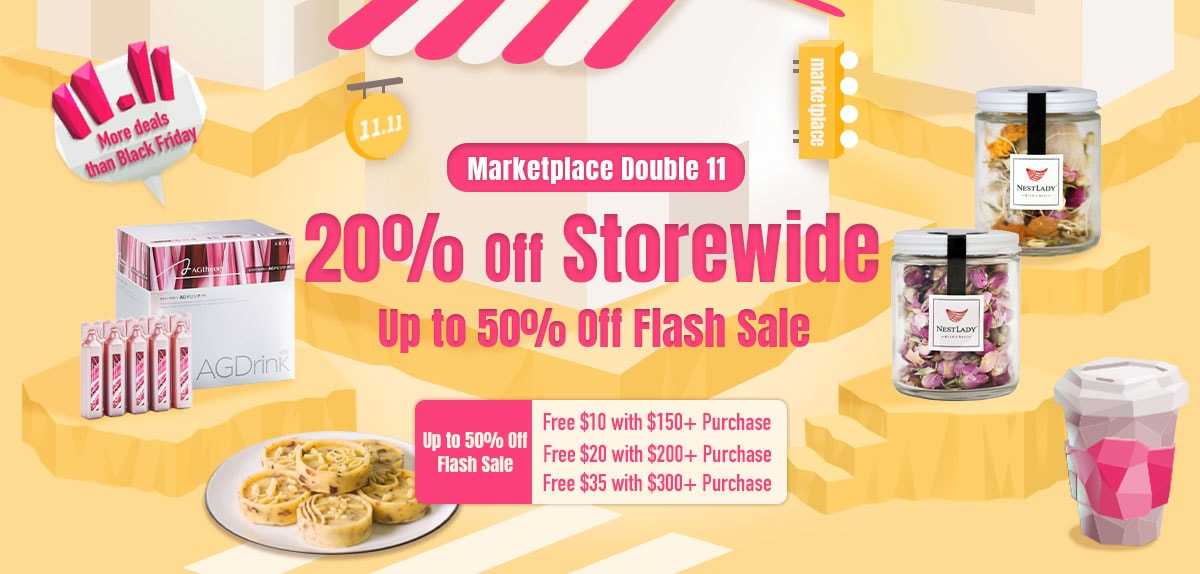 Marketplace Double 11 20% Off