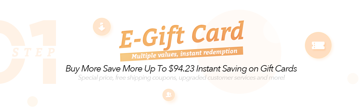 Gift Card & Deal Products