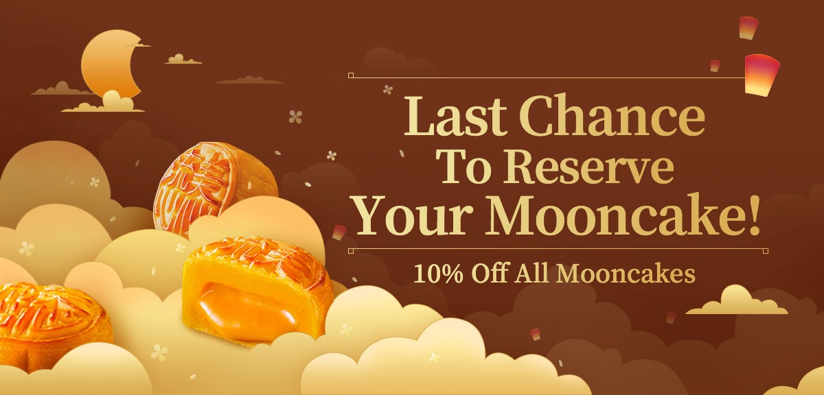 10% Off All Mooncakes