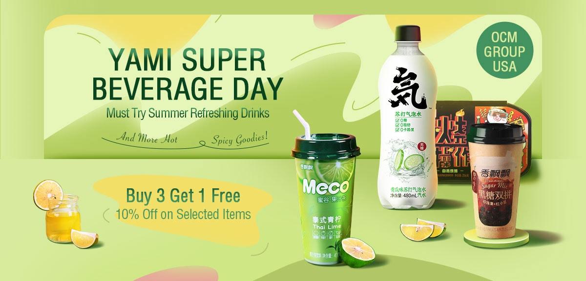 Yami Super Beverage Day
