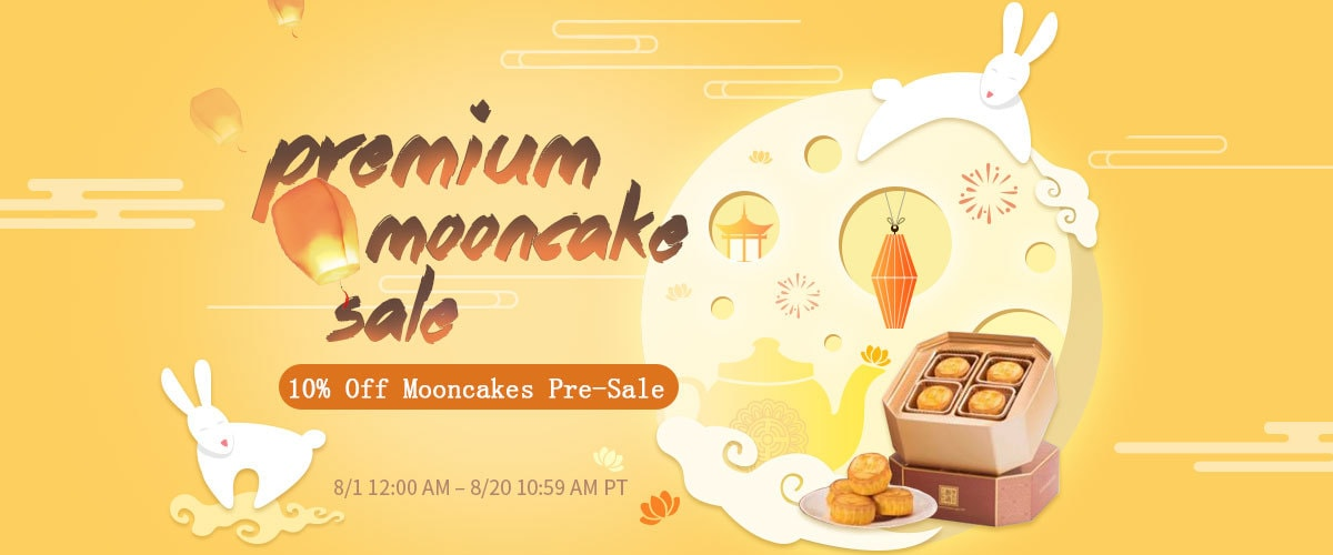 second premium mooncake sale