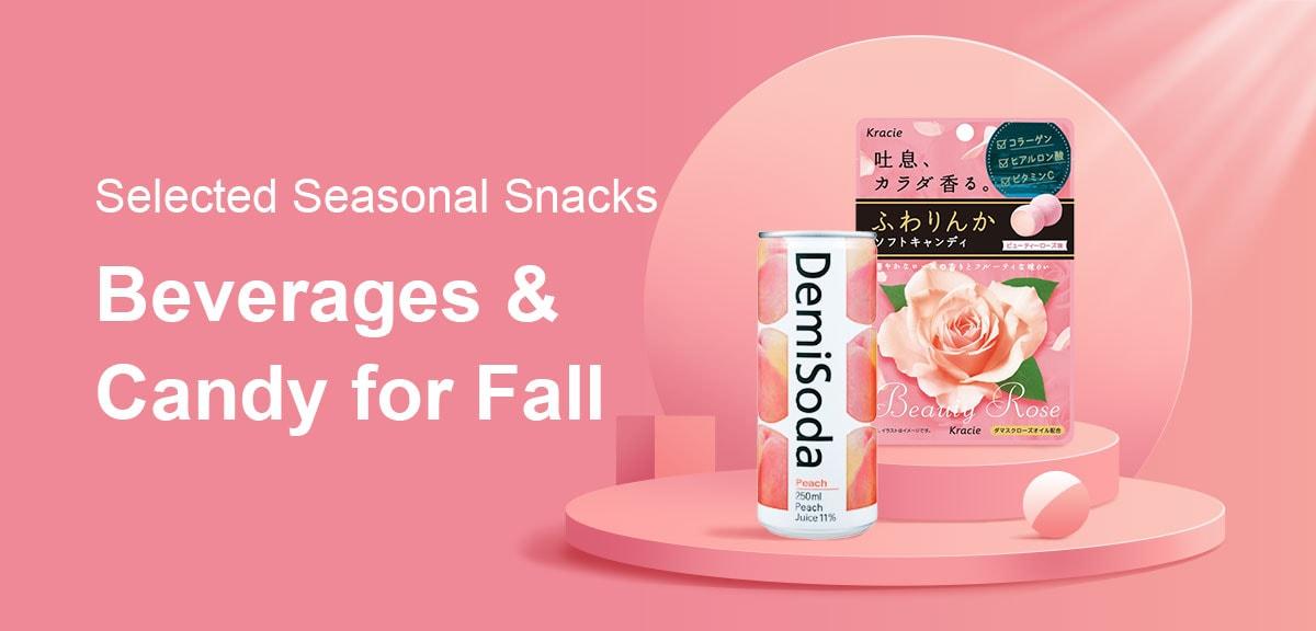 Selected Seasonal Snacks