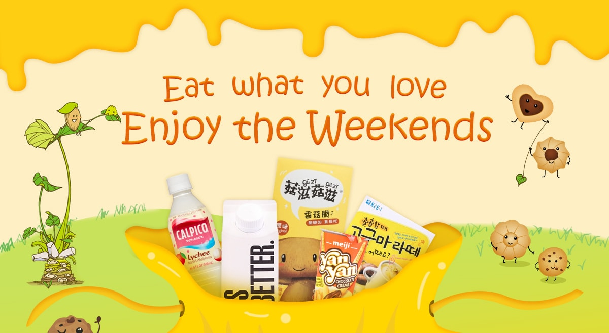 Eat what you love   Enjoy the Weekends