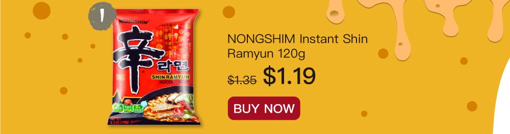 New serving style for instant noodles