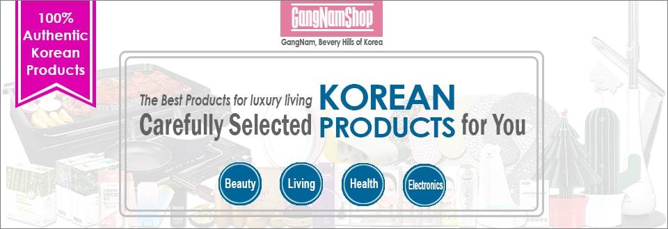 Gangnamshop 英文banner