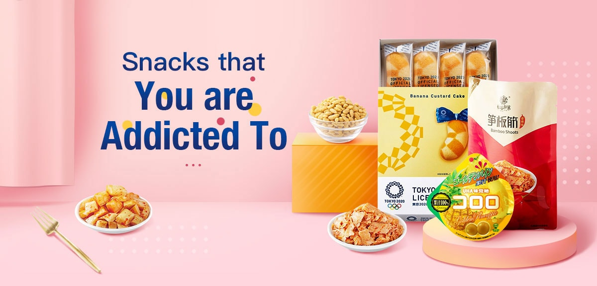 Snacks that You are Addicted To