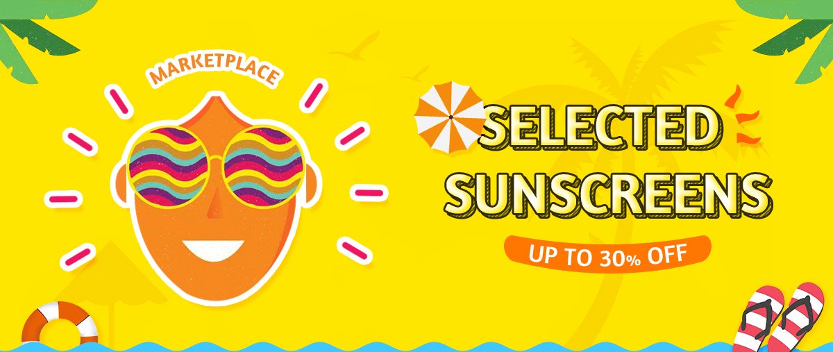Selected Sunscreens Up to 30% Off