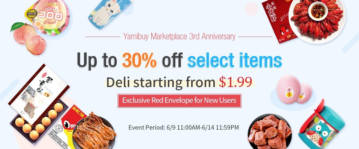 Yamibuy Marketplace 3rd Anniversary