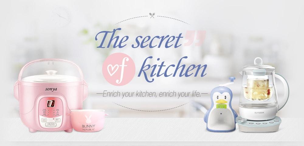 The secret of kitchen