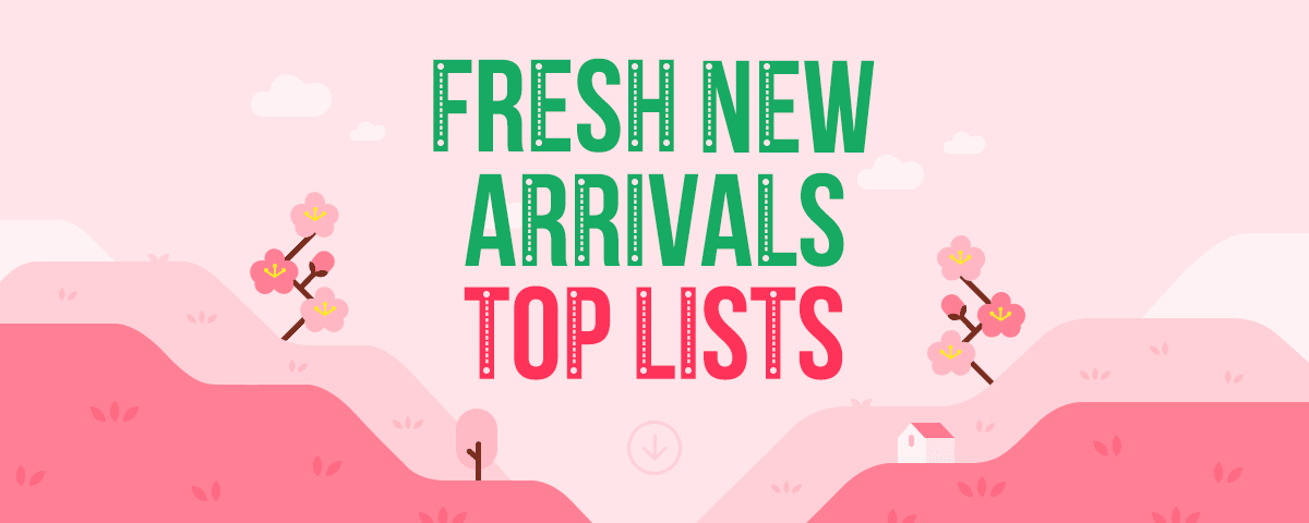 Fresh New Arrivals  Top Lists 311