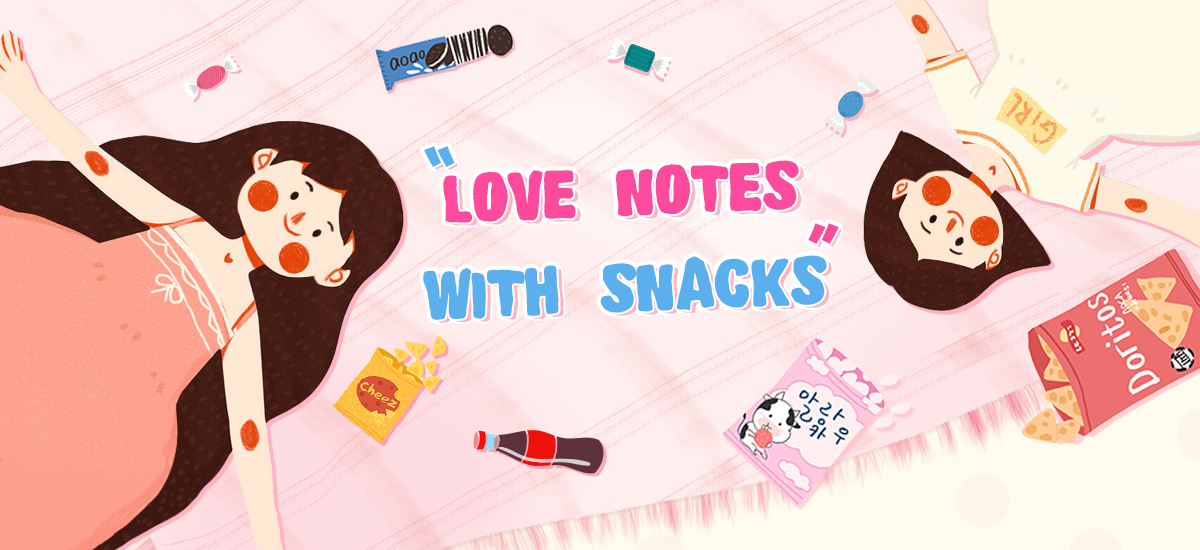 Love Notes with Snacks