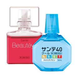 Beauteye Rose Eye Drops 12ml & 40 Cool Eye Drops 12ml