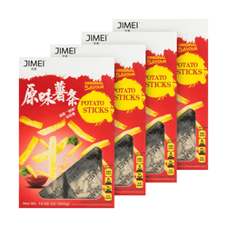 JIMEI Original Potato Sticks 300g×4