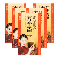 SHOU QUAN ZHAI Ginger Tea- Red Chinese Date Flavor 72g×5